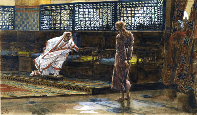 Jesus before Pontius Pilate