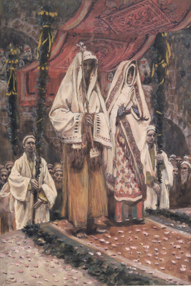 Tissot, Betrothal of Mary and Joseph